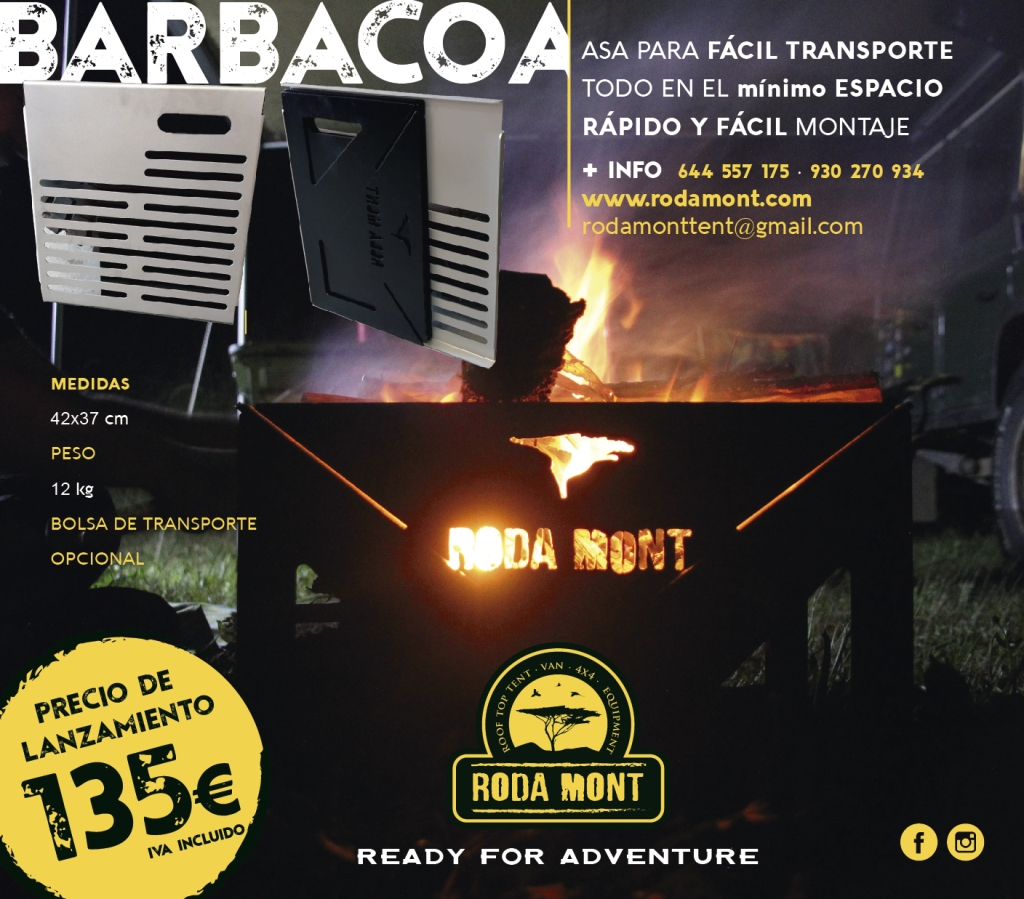 #BARBACOA#AVENTURA#OVERLAND#CAMPER#FUEGODECAMPAMENTO